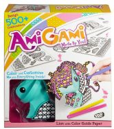 AmiGami Lion with Colour Guide Paper